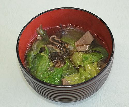 宮崎牛のスープ