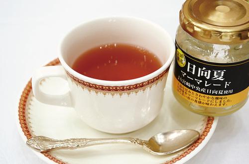 ほっこり日向夏生姜紅茶
